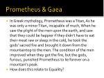 prometheus gaea
