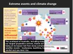 extreme events and climate change