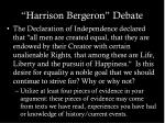 harrison bergeron debate