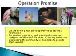 operation promise1