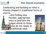 the mixed economy