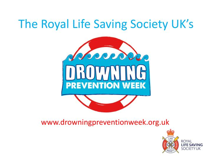 the royal life saving society uk s n.