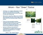 atrium your green partner