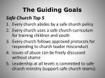 the guiding goals