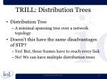 trill distribution trees