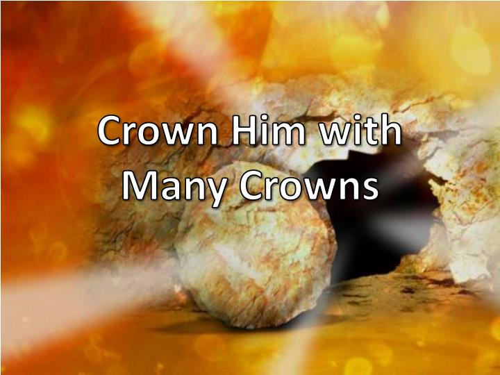 crown him with many crowns n.