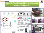 bus 2 0 transit based driver assistance how do they do it