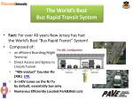 the world s best bus rapid transit system14