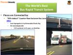 the world s best bus rapid transit system5