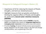 blueprint to safeguard europe s waters ii