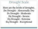 drought scale