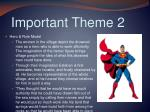 important theme 2