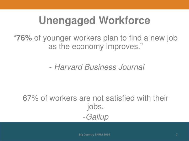 Unengaged Workforce