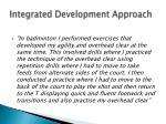 integrated development approach