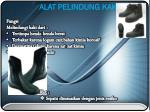 alat pelindung kaki