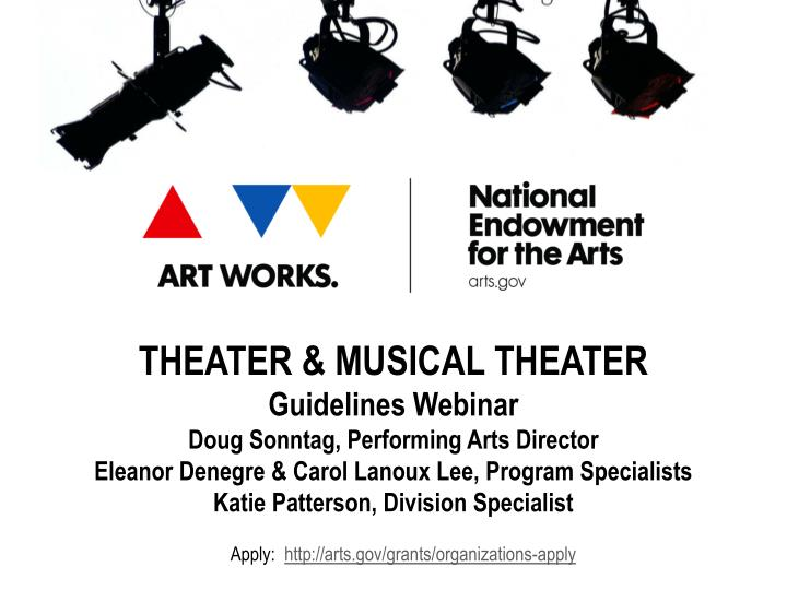 THEATER & MUSICAL THEATER