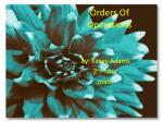 orders of operations