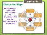 science fair steps