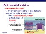 anti microbial proteins