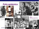 polio epidemics