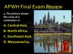 apwh final exam review2