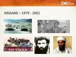 krigane 1979 2001