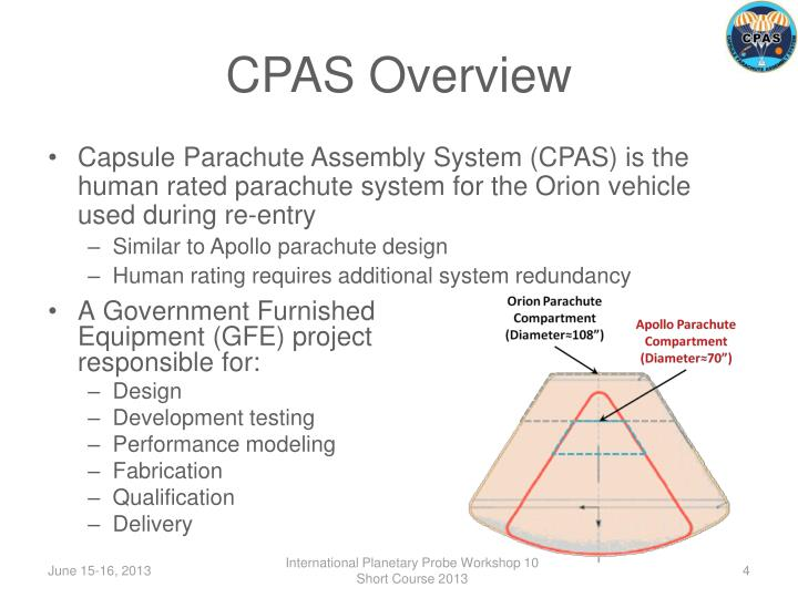 CPAS Overview