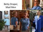 betty draper mad men