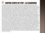 united state of pop dj earworm
