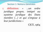 section 1 notions g n rales