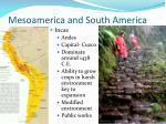 mesoamerica and south america1