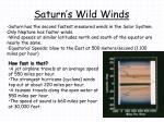 saturn s wild winds