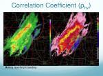 correlation coefficient hv2