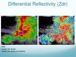 differential reflectivity zdr2