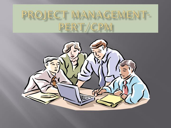 project management pert cpm n.