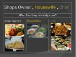 shops owner housewife chef1