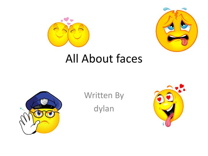all about faces n.