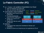 le fabric controller fc