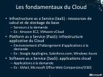 les fondamentaux du cloud