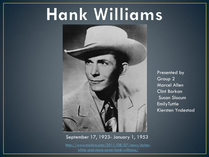 hank williams n.