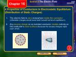 4 properties of conductors in electrostatic equilibrium distribution of static charges