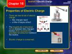 properties of electric charge1