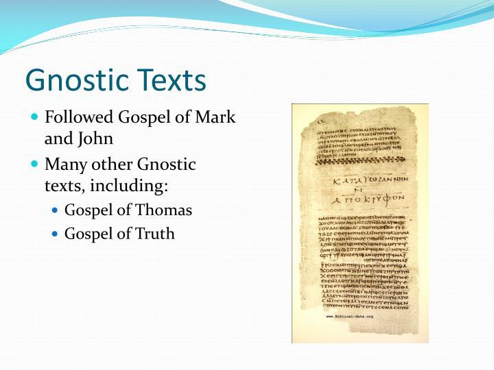 Gnostic Texts