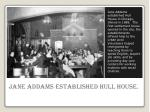 jane addams established hull house