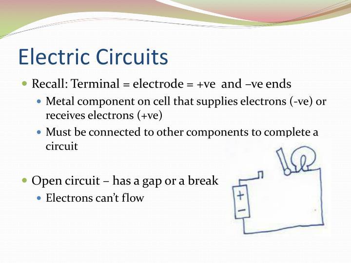 Electric circuits1