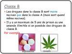 classe b