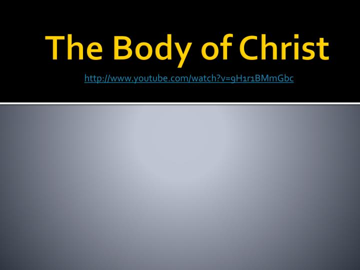 the body of christ n.