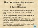 how to measure distances on a map1