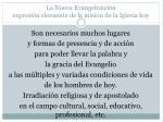 la nueva evangelizaci n expresi n elocuente de la misi n de la iglesia hoy6