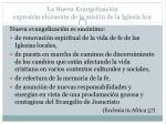 la nueva evangelizaci n expresi n elocuente de la misi n de la iglesia hoy7
